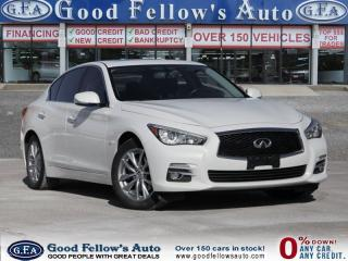 Used 2014 Infiniti Q50 AWD, 3.7L 6CYL, LEATHER SEATS, NAVI, HEATED SEATS for sale in Toronto, ON