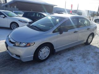 Used 2009 Honda Civic DX-G, AUTOMATIC, KEYLESS, A/C, ALLOYS, 143KM for sale in Ottawa, ON
