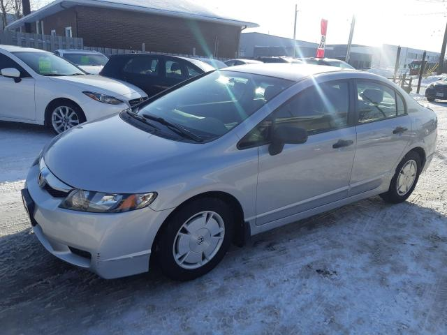 2009 Honda Civic DX-G, AUTOMATIC, KEYLESS, A/C, ALLOYS, 143KM