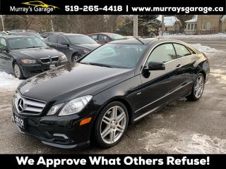 Used 2012 Mercedes-Benz E-Class E350 Coupe for sale in Guelph, ON