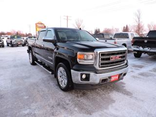 Used 2014 GMC Sierra 1500 SLT. Leather. Sunroof. Navigation. 127km for sale in Gorrie, ON