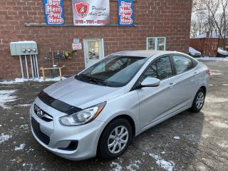 Used 2012 Hyundai Accent GL/1.6L/REDUCED/SAFETY INCLUDED/NO ACCIDENT for sale in Cambridge, ON