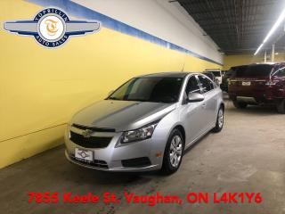 Used 2014 Chevrolet Cruze 1LT Automatic, 2 Years Warranty for sale in Vaughan, ON