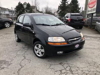 Used 2006 Chevrolet Aveo LS for sale in Surrey, BC
