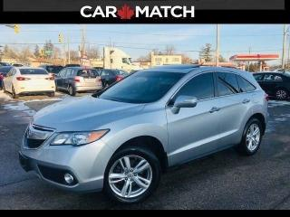 Used 2015 Acura RDX LEATHER / ROOF / NO ACCIDENTS for sale in Cambridge, ON