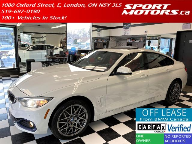 2016 BMW 4 Series 428i xDrive GranCoupe+HUD+New Brakes+Red Leather