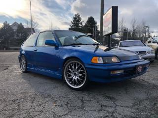 Used 1991 Honda Civic CX for sale in Surrey, BC
