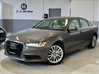 Used 2015 Audi A6 TECHNIK|NAV|BLIND SPOT|MASSAGE SEATS|ACCIDENT FREE for sale in Oakville, ON