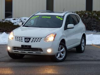 Used 2009 Nissan Rogue AWD,SL,LEATHER-HEATED SEATS,BOSE AUDIO,NO-ACCIDENT for sale in Mississauga, ON