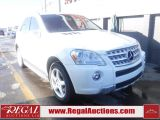 Photo of White 2009 Mercedes-Benz ML 550