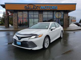 Used 2018 Toyota Camry HYBRID XLE - Hybrid, Navigation, Leather Interior, Satellite Radio for sale in Courtenay, BC