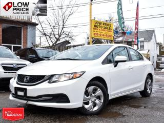 Used 2015 Honda Civic Sedan LX*AllPowerOpti*HtdSeats*Camera*ExtraCean* for sale in Toronto, ON