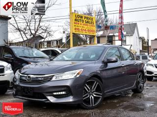 Used 2016 Honda Accord Sedan Touring*Leather*Sunroof*Navi*Camera*BlindSpot*FULL for sale in Toronto, ON