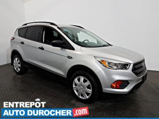 Used 2017 Ford Escape S AWD Automatique - A/C - Caméra de Recul for sale in Laval, QC