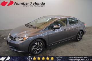 Used 2015 Honda Civic EX| Sunroof| Backup Cam| Bluetooth| for sale in Woodbridge, ON