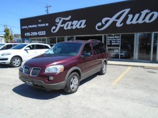 Used 2007 Pontiac Montana Sv6 REG WB W/1SA for sale in Scarborough, ON