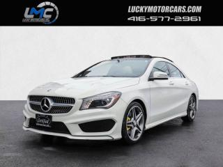 Used 2016 Mercedes-Benz CLA250 4MATIC AMG SPORT PKG-PANOROOF-BACKUPCAM-LEDS-40KMS for sale in Toronto, ON
