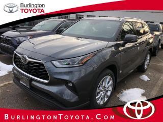 New 2020 Toyota Highlander LIMITED AWD for sale in Burlington, ON