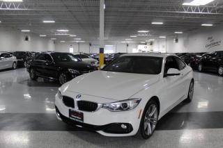 Used 2015 BMW 4 Series 428i XDRIVE I NAVIGATION I REAR CAM I SUNROOF I LEATHER I BT for sale in Mississauga, ON