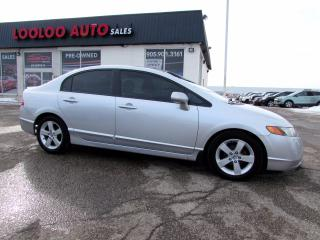 Used 2008 Honda Civic LX Sedan 5 Speed Manual Sunroof Certified for sale in Milton, ON