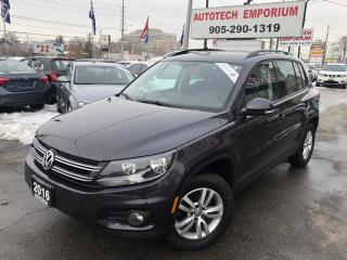 Used 2016 Volkswagen Tiguan Trendline Camera/Heated Seats/Bluetooth/Navigation for sale in Mississauga, ON