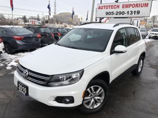 Used 2016 Volkswagen Tiguan Trendline Heated Seats/Camera/Navigation for sale in Mississauga, ON