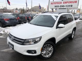 Used 2016 Volkswagen Tiguan Special Ed. 4Motion AWD/Navigation/Sunroof/Htd Seats/Camera for sale in Mississauga, ON