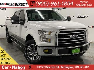 Used 2016 Ford F-150 XLT XTR| LOCAL TRADE| 4X4| PANO ROOF| NAVI| for sale in Burlington, ON
