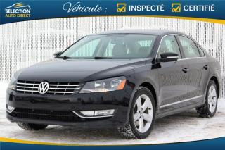 Used 2014 Volkswagen Passat TDI Comfortline for sale in Ste-Rose, QC