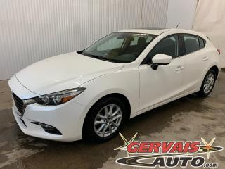 Used 2018 Mazda MAZDA3 GS Sport GPS Toit Ouvrant Caméra Bluetooth MAGS *Transmission automatique* for sale in Trois-Rivières, QC