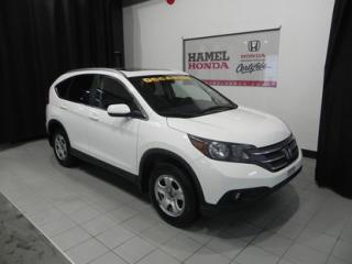 Used 2012 Honda CR-V LX AWD PRATIQUE POUR LES HIVERS DU QUÉBEC !!! for sale in St-Eustache, QC