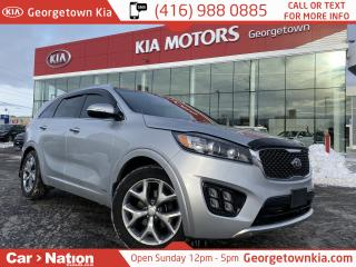 Used 2016 Kia Sorento SX TURBO | NAVI | PANO ROOF | PWR SEAT | AWD | for sale in Georgetown, ON