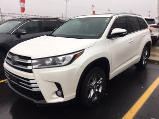 Used 2017 Toyota Highlander LIMITED - 1 OWNER|NAVI|LEATHER|SUNROOF|BLUETOOTH for sale in Ancaster, ON