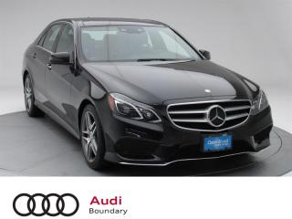 Used 2015 Mercedes-Benz E-Class E400 4MATIC Sedan for sale in Burnaby, BC