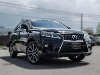 Used 2015 Lexus RX 350 F Sport | NAV | BACK UP | BLACK ON RED  | PRICE TO SELL for sale in Toronto, ON
