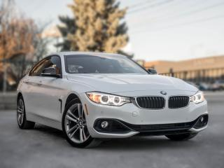 Used 2016 BMW 4 Series 428i xDrive I NAV I BACK UP I WHITE ON RED for sale in Toronto, ON