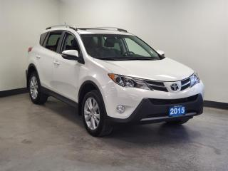 Used 2015 Toyota RAV4 AWD Limited *ONE OWNER * Traction Control | Navigation | Heated Seats | for sale in Port Moody, BC
