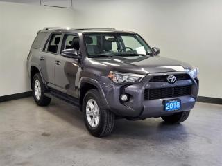 Used 2018 Toyota 4Runner SR5 V6 5A *NO ACCIDENTS * ONE OWNER * for sale in Port Moody, BC