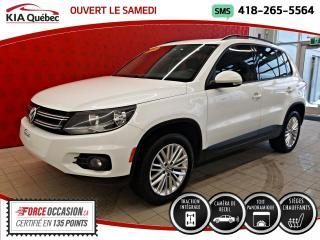 Used 2016 Volkswagen Tiguan COMFORTLINE* AWD* TOIT PANO* CAMERA* for sale in Québec, QC