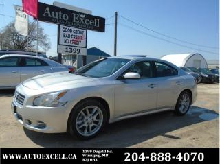 Used 2010 Nissan Maxima 3.5 S for sale in Winnipeg, MB