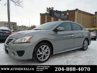 Used 2013 Nissan Sentra SR for sale in Winnipeg, MB