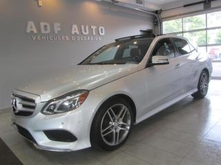 Used 2015 Mercedes-Benz E-Class E400 4MATIC AMG PACKAGE NAVIGATION for sale in Longueuil, QC