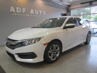 Used 2016 Honda Civic LX AUTOMATIQUE CAMÉRA DE RECUL for sale in Longueuil, QC