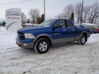 Used 2011 RAM 1500 Cabine quad 4RM, 140,5 po ST for sale in St-Félicien, QC