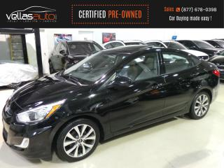 Used 2017 Hyundai Accent SEDAN| SUNROOF| AUTO| 31,795KM for sale in Vaughan, ON