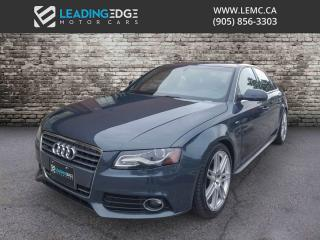 Used 2011 Audi A4 2.0T Premium Plus S-Line, Navigation, Bang & Olufsen for sale in Woodbridge, ON