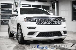 Used 2017 Jeep Grand Cherokee 4WD Summit chez Rimouski Hyundai for sale in Rimouski, QC