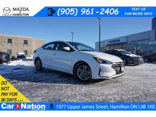 Used 2020 Hyundai Elantra PREFERRED | APPLE CARPLAY | BLINDSPOT | REAR CAM for sale in Hamilton, ON