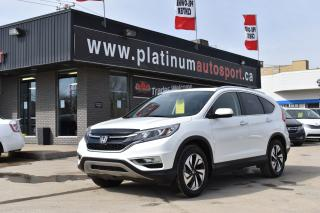 Used 2016 Honda CR-V Touring TOURING MODEL HONDA QUALITY! for sale in Saskatoon, SK