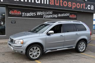 Used 2014 Volvo XC90 3.2 Platinum EARLY BLACK FRIDAY SPECIAL !! $5500 DISCOUNT !! for sale in Saskatoon, SK